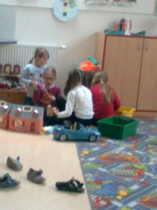 hraní ve třídě 2