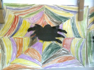 podzimní pavučina 5