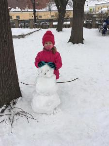 Stavíme sněhuláka (1)