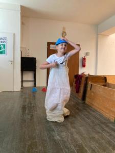 Sportovní den s pokladem - deváťáci dětem ˜ (48)