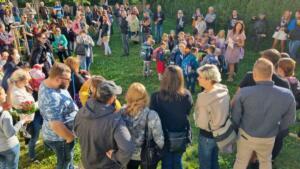 2021 – Přivítání prvňáčků na zahradě školy (14)