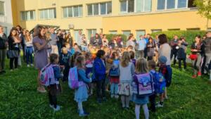 2021 – Přivítání prvňáčků na zahradě školy (5)